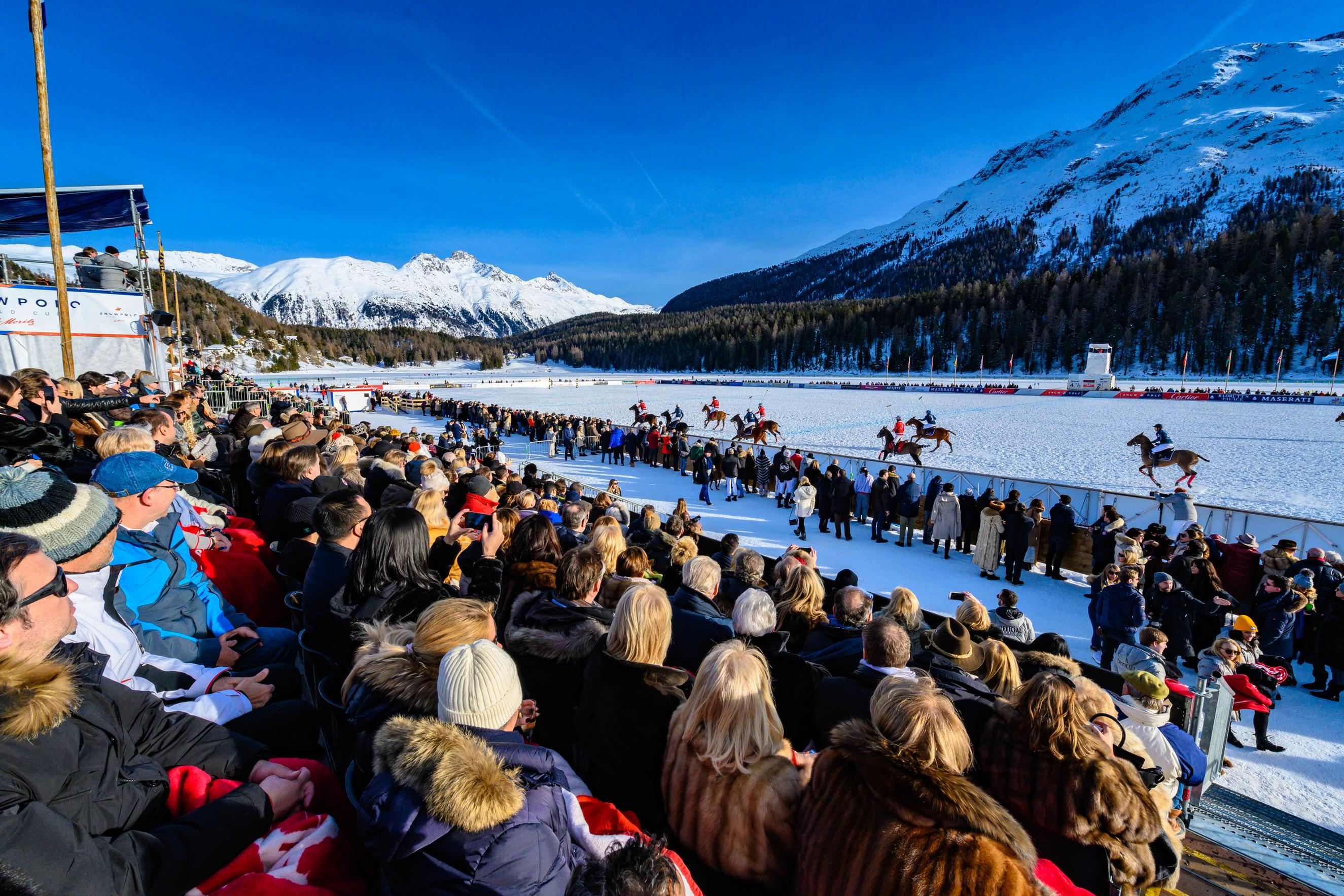 Snow Polo World Cup Crowd